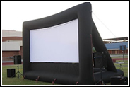 Marysville inflatable movie screen