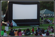 Shawnee Hills movie screen rentals